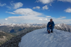 Me on the summit of Mt. Antero.