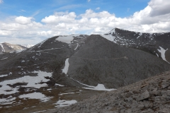 Looking back towards Mt. Antero from Mt. White.