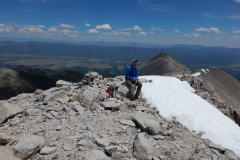 On top of Mt. White.
